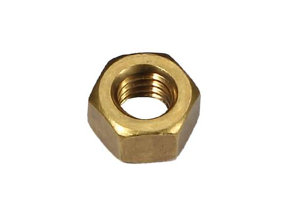 Hex Jam Nut Steel Hex Jam Nut BP ( Yellow Zinc ) 5 / 16' X 9 / 16'