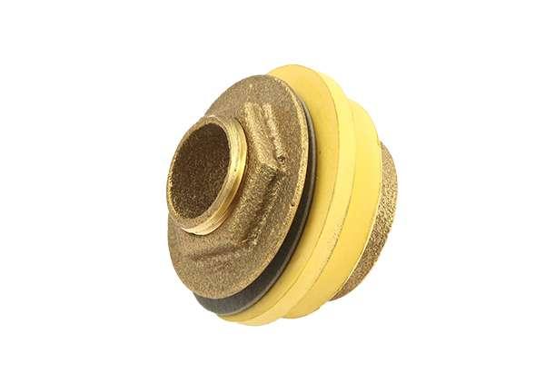 BR Closet Spud W / Yellow Washer 1 1 / 2 X 1 1 / 2