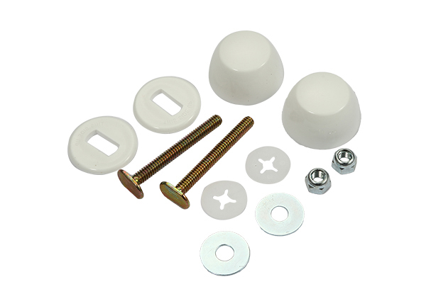 "Toilet Bolt Sets 1 / 4"" X 2 - 1 / 4"" Bolt Sets ( Round Washer )"