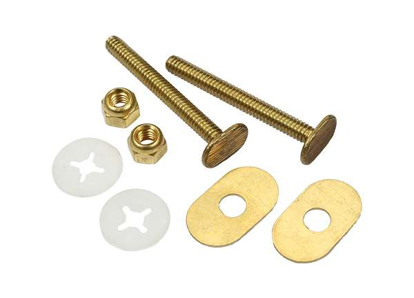 Toilet Bolt Sets 1 / 4' X 2 - 1 / 4' Bolt Sets ( Oval Washer )