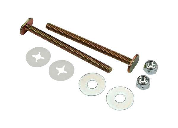 Toilet Bolt Sets 1 / 4' X 3 - 1 / 2' Bolt Sets ( Round Washer )