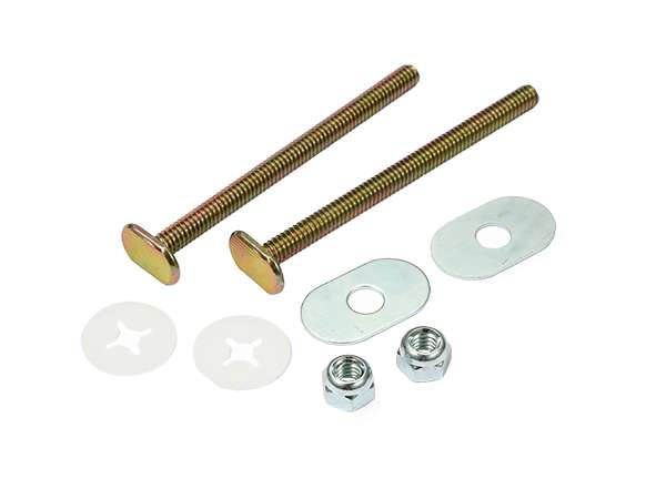 "Toilet Bolt Sets 1 / 4"" X 3 - 1 / 2"" Bolt Sets ( Oval Washer )"