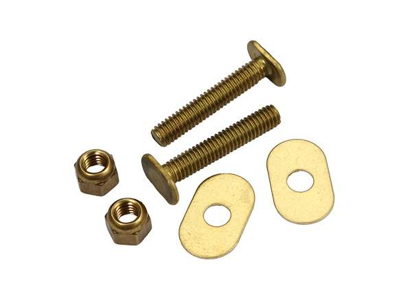 Toilet Bolt Sets 5 / 16' X 1 - 3 / 4' Bolt Sets ( Oval Washer )