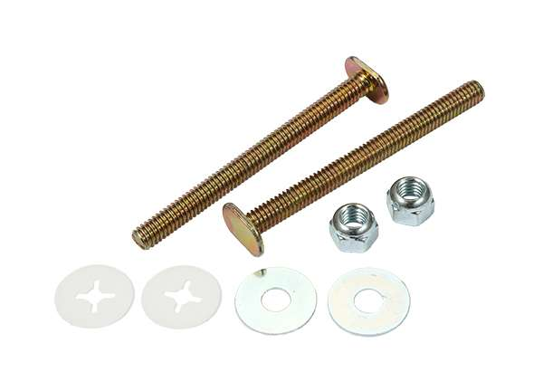 Toilet Bolt Sets 5 / 16' X 3 - 1 / 2' Bolt Sets ( Round Washer )