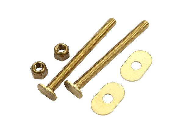Toilet Bolt Sets 5 / 16' X 3 - 1 / 2' Bolt Sets ( Oval Washer )