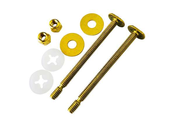 "Snap - Off Toilet Bolt Sets 1 / 4"" X 3 - 1 / 2"""