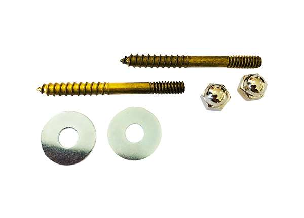 Toilet Screw Sets Round Washer 1 / 4' X 2 - 1 / 2'