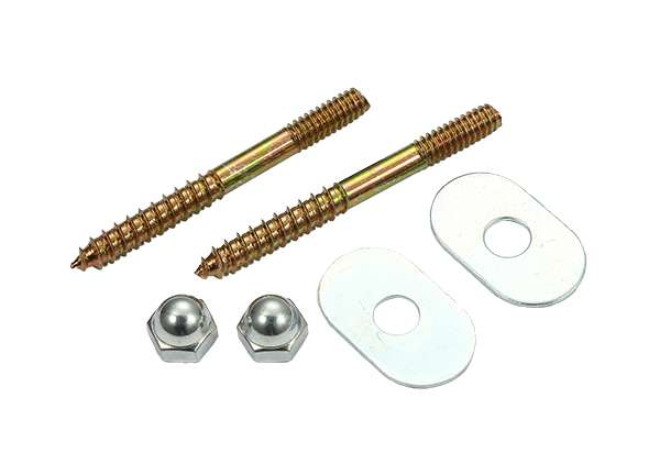 Toilet Screw Sets Oval Washer 1 / 4' X 2 - 1 / 2'