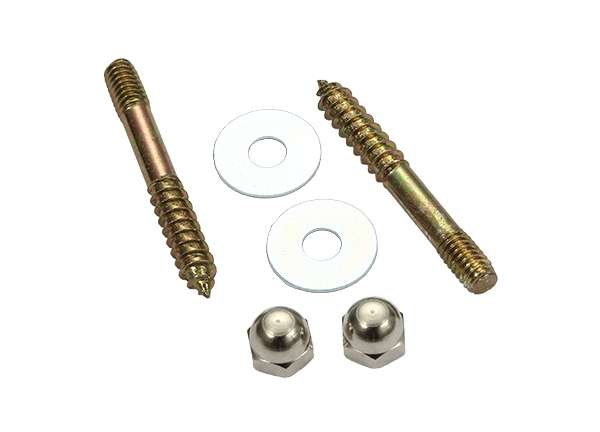 Toilet Screw Sets Round Washer 5 / 16' X 2 - 1 / 2'
