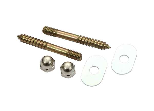 Toilet Screw Sets Oval Washer 5 / 16' X 2 - 1 / 2'