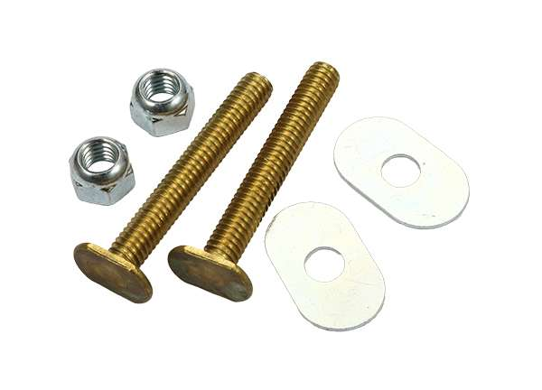 "Toilet Bolt Sets 1 / 4"" X 2 - 1 / 4"" Bolt Sets ( Oval Washer )"