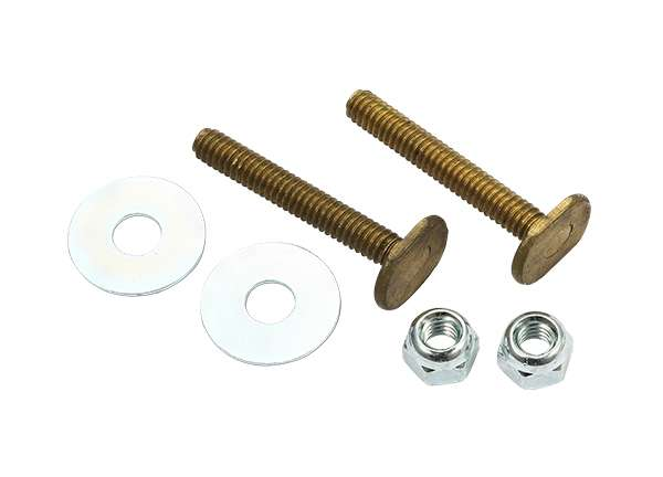 Toilet Bolt Sets 1 / 4' X 1 - 3 / 4' Bolt Sets ( Round Washer )