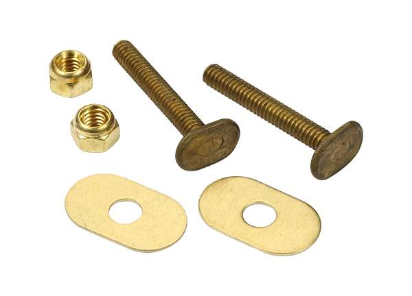 Toilet Bolt Sets 1 / 4' X 1 - 3 / 4' Bolt Sets ( Oval Washer )