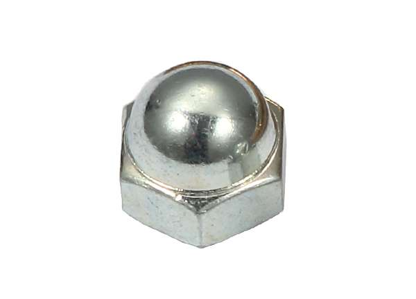 Acorn Nut Steel Close Acorn Nut ( Zinc Plated ) 1 / 4'